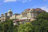 Bern, Switzerland. Swiss Parliament building. — Stock Photo