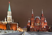 The Historical museum in Red square, Moscow, Russia — Stock Photo