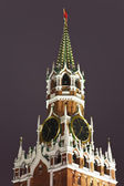 A Spassky tower of Kremlin, Moscow, Russia — Stock Photo