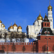 The cathedrals Moscow Kremlin. Russia. - Stock Photo