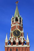 A Spassky tower of Moscow Kremlin, Russia — Foto Stock