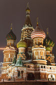 St. Basil's Cathedral on Red square, Moscow — Stock Photo