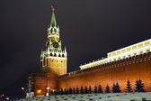 A Spasskaya tower of Moscow Kremlin, Russia — Stock Photo