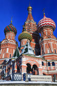 St. Basil's Cathedral on Red square, Moscow — Stockfoto