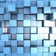 Stock Photo: Abstract background of 3d cubes