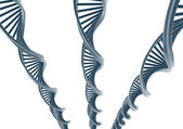 Dna illustration — Stock Photo