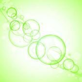 Green purity — Stock Vector