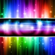 Multicolored banners - Stock Vector