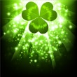Stock Vector: St.Patrick holiday bright background