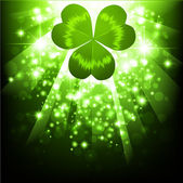 St.Patrick holiday bright background — ストックベクタ