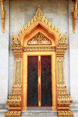 Temple door — Stock Photo
