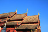 The three pinacle of temple roof. — Stock Photo