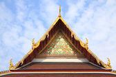 Gable of Buddha church — Foto de Stock