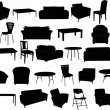 Furniture - Imagen vectorial