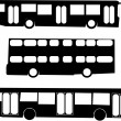 Bus — Stock Vector