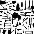 Stock Vector: Tools