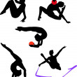 Gymnastics — Vector de stock #4017501