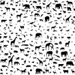 Animals — Vector de stock #4051385