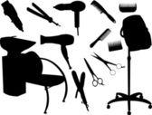 Hair equipment — Stock Vector