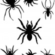 Spiders - Stock Vector