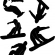 Snowboard - Stock Vector