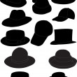 Stock Vector: Hats