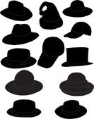 Hats — Stock Vector