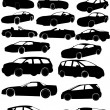 Cars — Stock Vector