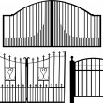 Gate — Stock Vector