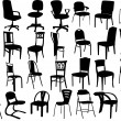Chairs — Stock Vector #4244795