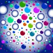 bubbles — Stock Vector