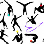Gymnastics — Stock Vector #4411472