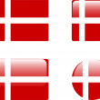 Denmark — Vector de stock #4918986