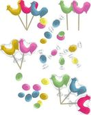 Traditional lollipops — Stock Vector
