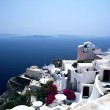 Постер, плакат: Architecture on Santorini island Greece