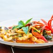 Thai Food Spicy Squid Curry — Stock Photo #3962974