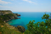 Landscape sea and sky in Crimea — Stock Photo