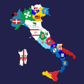 Italiaanse provincies — Stockfoto