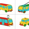 City transport (vector) — Stockvectorbeeld