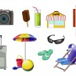 Vacation set — Stock Vector #5291548