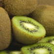 Green kiwis — Stock Photo