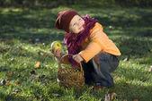 A little girl — Stock Photo
