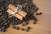 Caffè e cannella — Foto Stock
