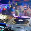 DJ's deck — Stock Photo