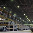 Industrial metallurgical storehouse — Stock Photo #3959635