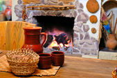 Comfort of home hearth — Stock Photo
