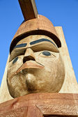 Native AMerican Totem_2 — Stock Photo