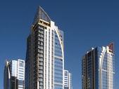 New towerlike buildings 2 — Stock Photo