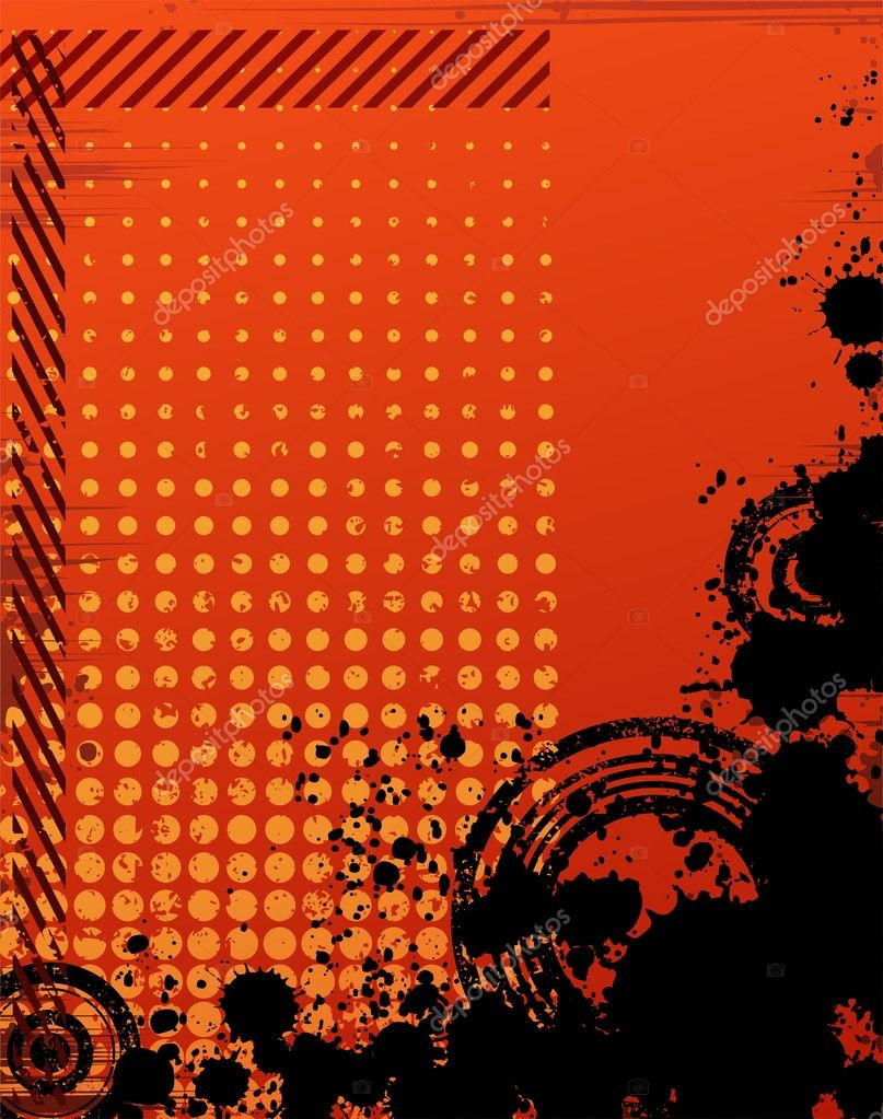  Creative abstract background vector drawing   Stok Vektr #3984218