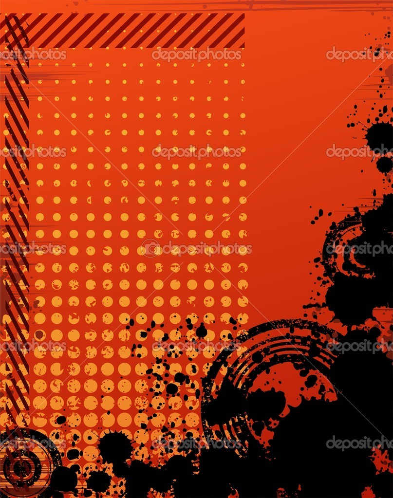  Creative abstract background vector drawing     #3984218